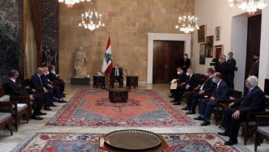 Photo of أعضاء المجلس الدستوري يقدمون للرئيس عون التصاريح عن الذمة المالية العائدة لهم